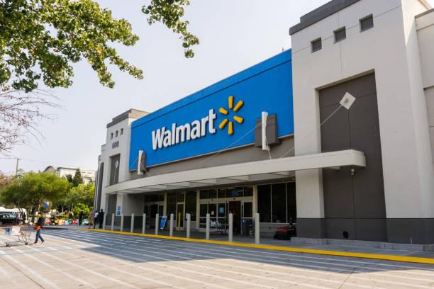 wejście do sklepu walmart - walmart zdjęcia i obrazy z banku zdjęć