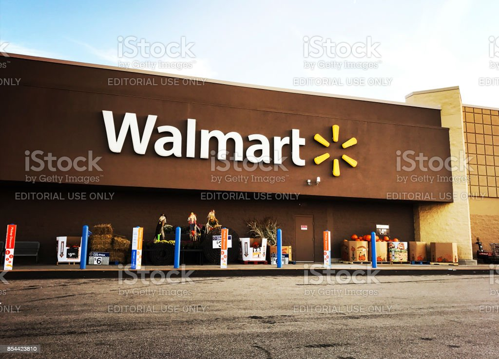 Walmart Supercenter in Pittsburgh stock photo