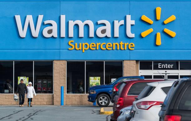 walmart supercentre - walmart стоковые фото и изображения
