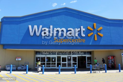 istock Walmart Supercentre storefront 458400477