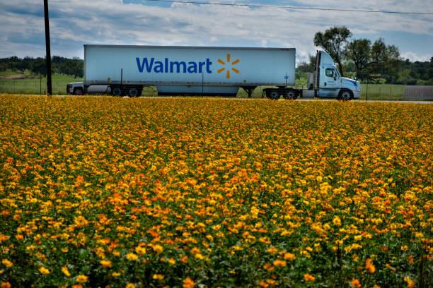 walmart truck - walmart zdjęcia i obrazy z banku zdjęć
