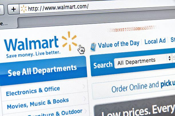walmart witrynie internetowej - walmart zdjęcia i obrazy z banku zdjęć