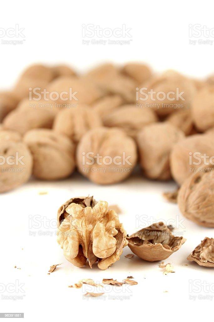 Walnut cracker - Royalty-free Color Image Stock Photo