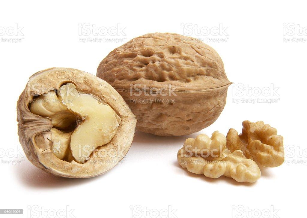 walnut fruit food royalty-free stock photo