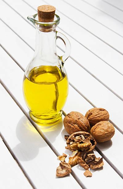 Walnut Oil stock photo