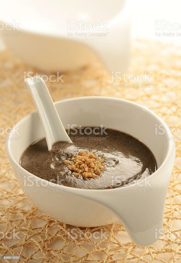 Walnut & Sesame Cereal stock photo