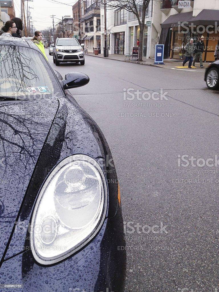 Walnut Street royalty-free stock photo