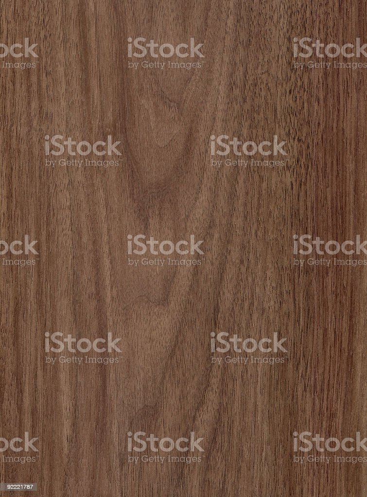 Walnut - Wood Texture Series stock photo