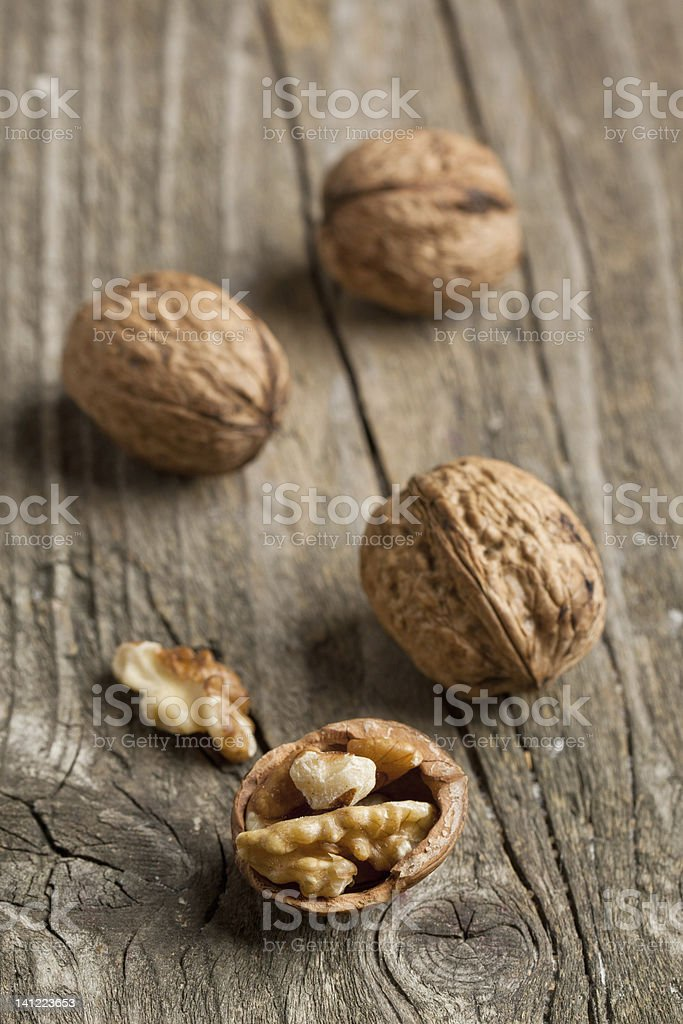 Walnuts royalty-free stock photo