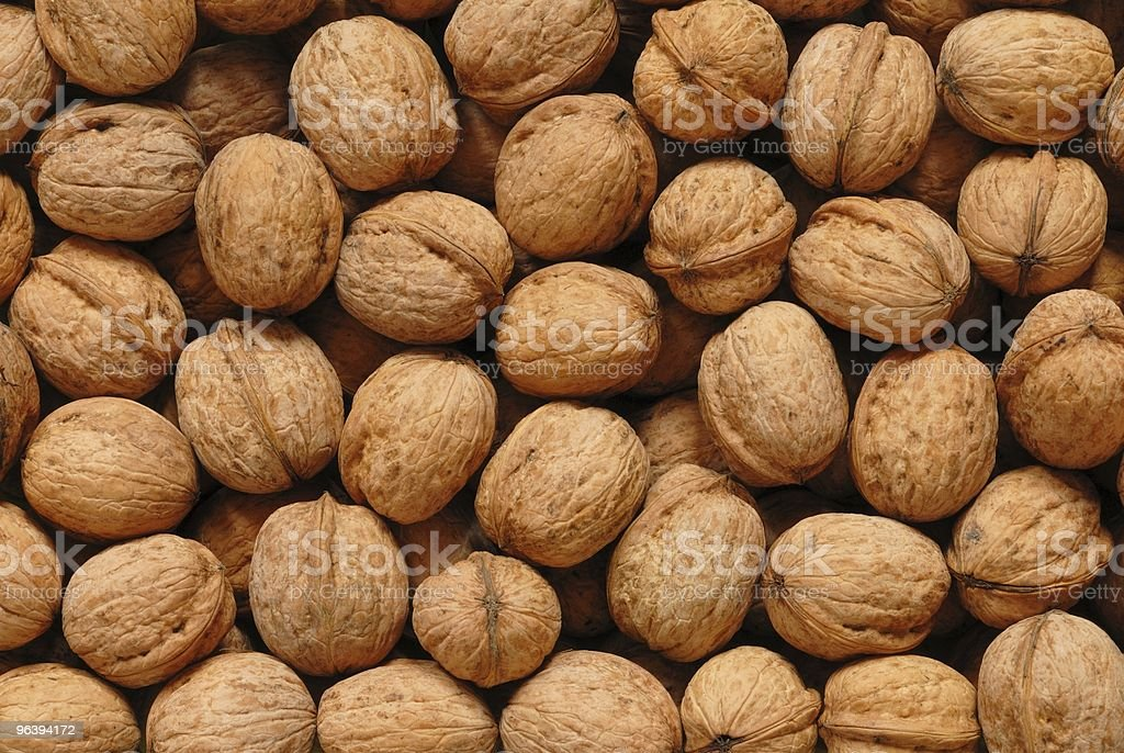Walnuts - Royalty-free Backgrounds Stock Photo