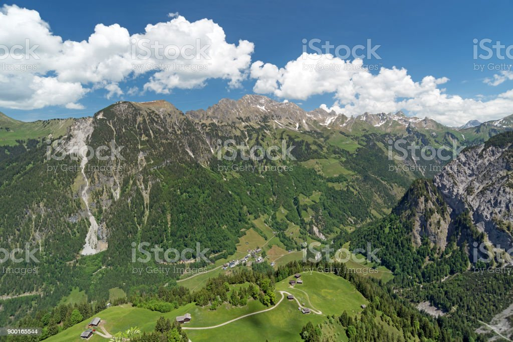 Walser Valley, Austria stock photo