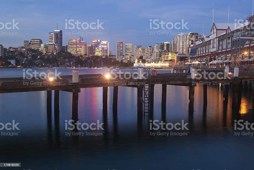 Walsh Bay / Dawes Point stock photo
