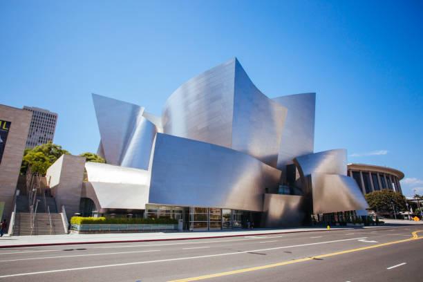 Walt Disney Concert Hall in USA stock photo