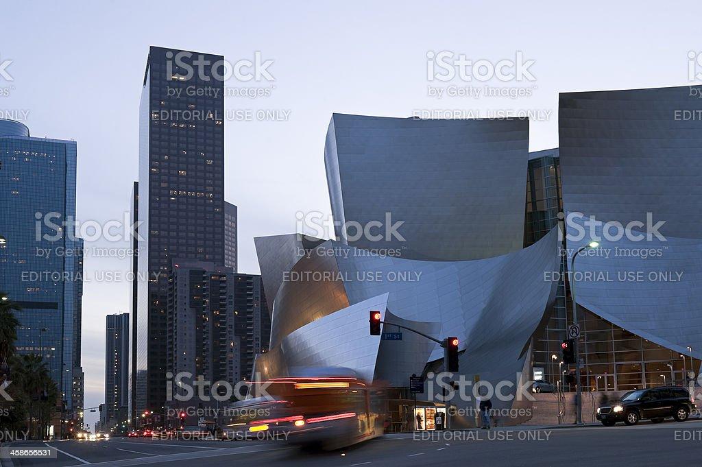 Walt Disney Concert Hall royalty-free stock photo