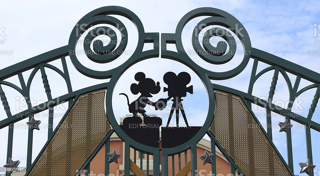 Walt Disney Studios, Paris stock photo