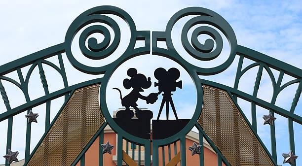 Walt Disney Studios, Paris stock photo