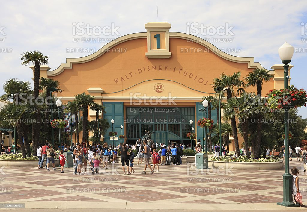 Walt Disney Studios-Paris stock photo