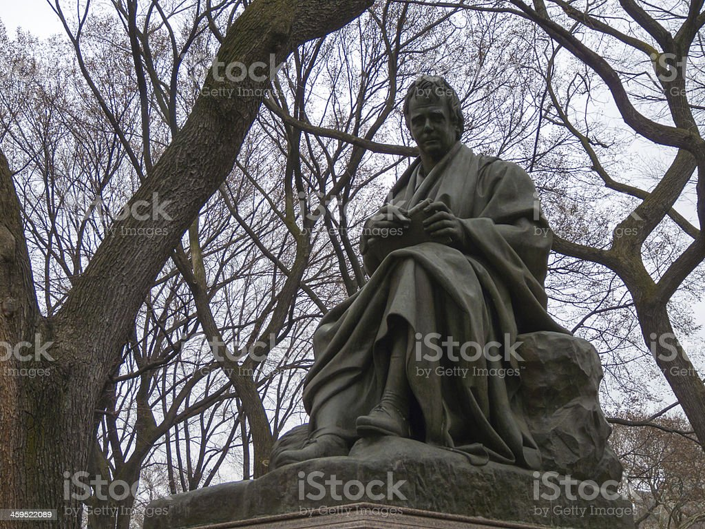Walter Scott stock photo