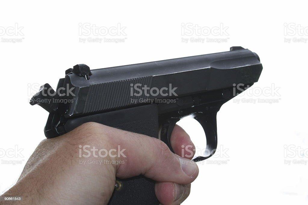 walther p5 handgun dutch police arm royalty-free stock photo