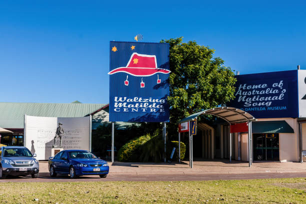 Waltzing Matilda Center and Museum stock photo