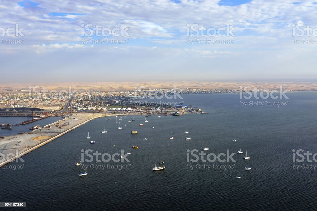 Walvis Bay, Namibia stock photo
