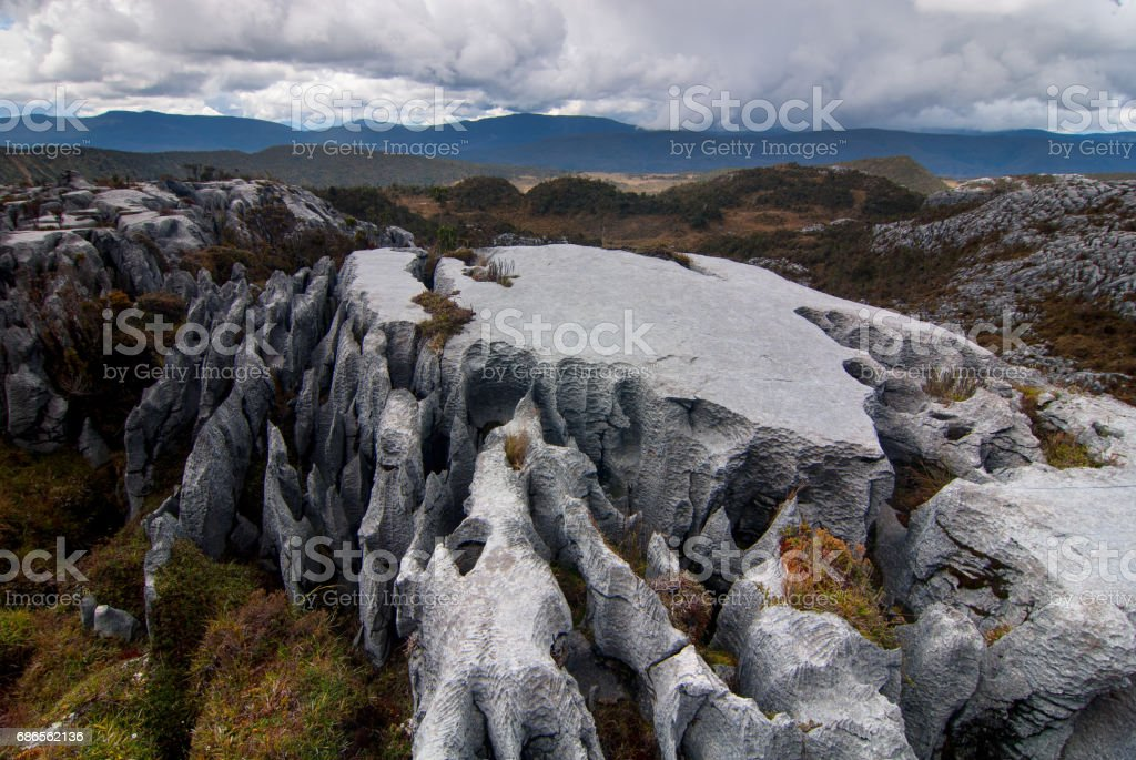 Batas Batu Wamena royalty-free stock photo