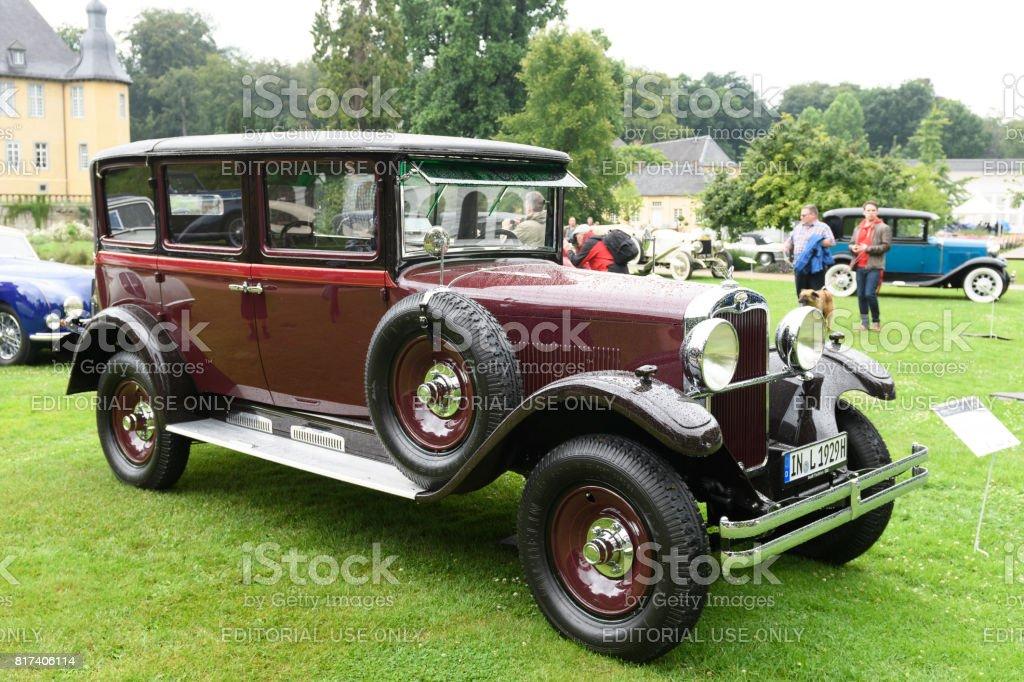 Wanderer W11 Pullmanlandaulet Klassische 1929 Oldtimer Stock