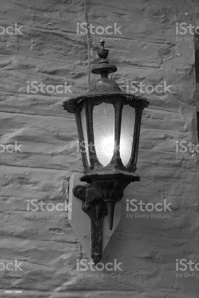 Wandlampe stock photo