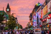 Wangfujing Dajie, the famous shopping street