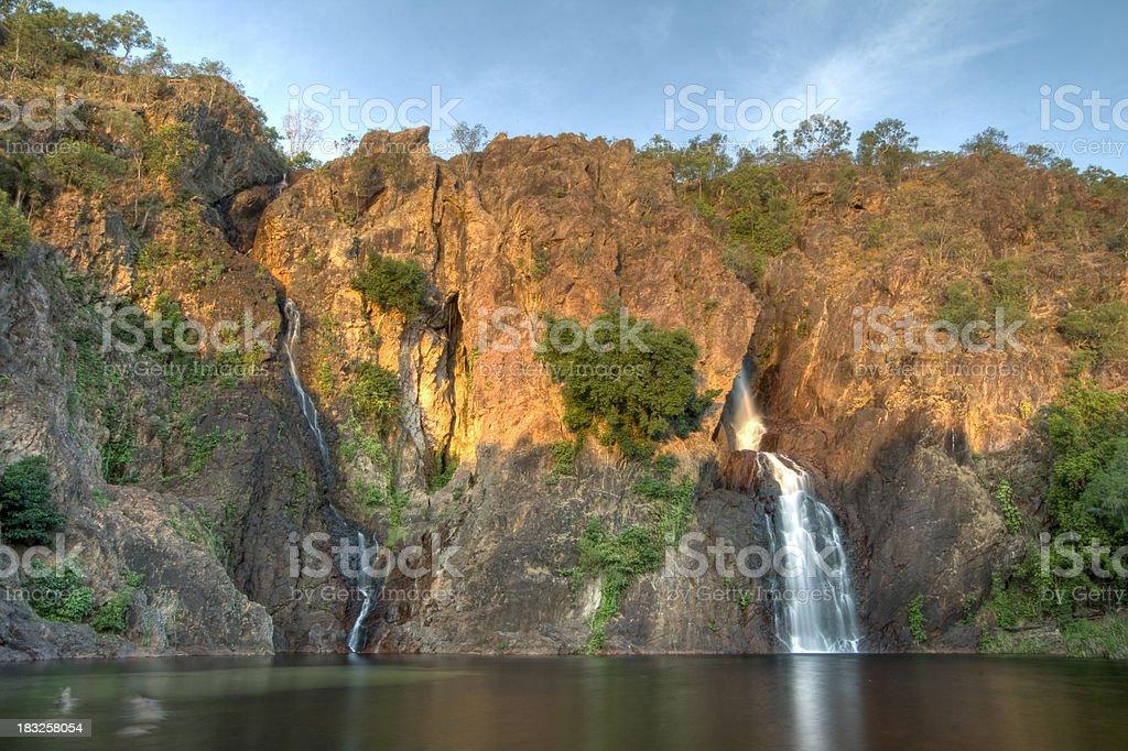 Wangi Falls royalty-free stock photo