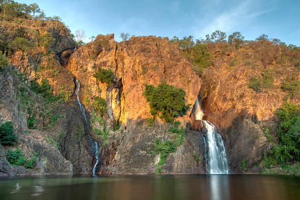wangi falls - darwin stock photos and pictures