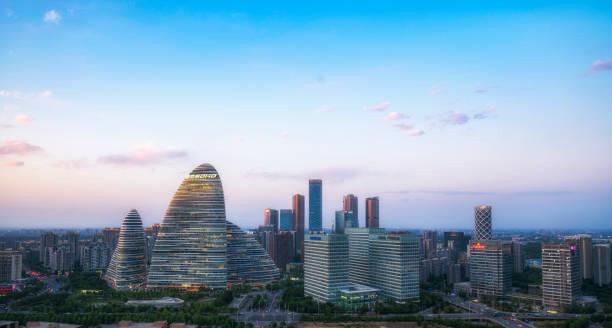 望京ソーホー、北京、中国 - 北京 ストックフォトと画像