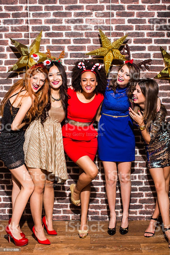 Wanna dance with us? stock photo