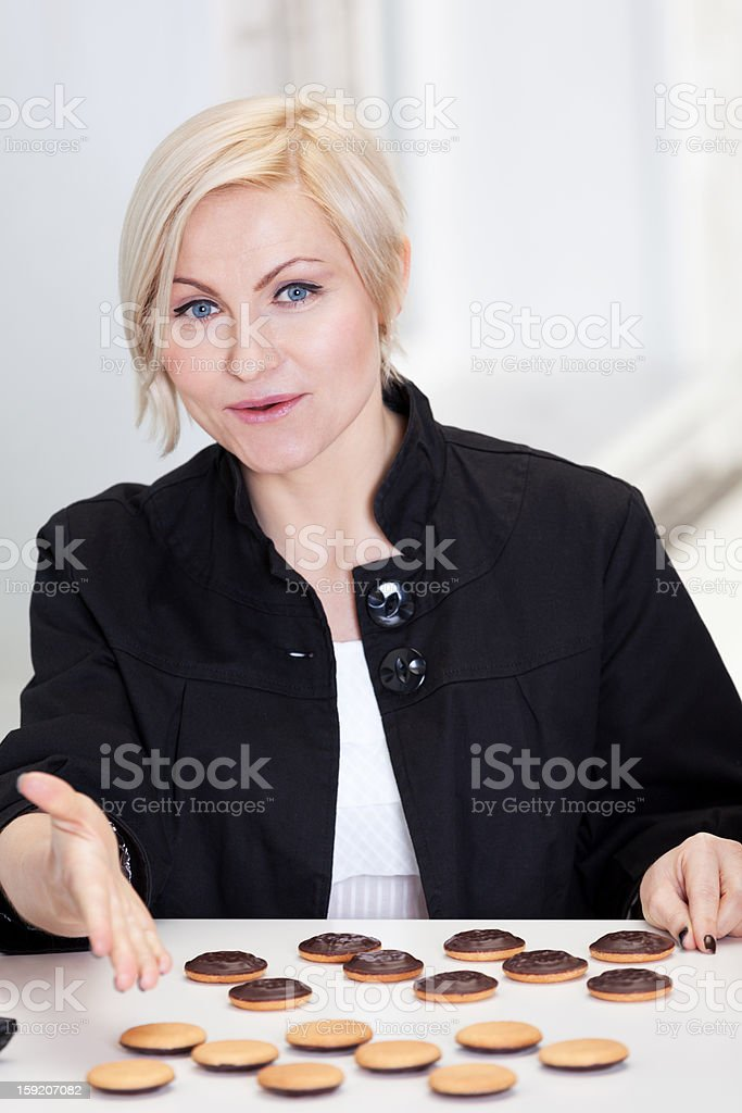 Wanna play an anti-diet game? royalty-free stock photo