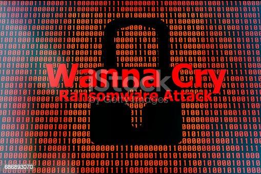 istock WannaCry ransomware attack 686893070