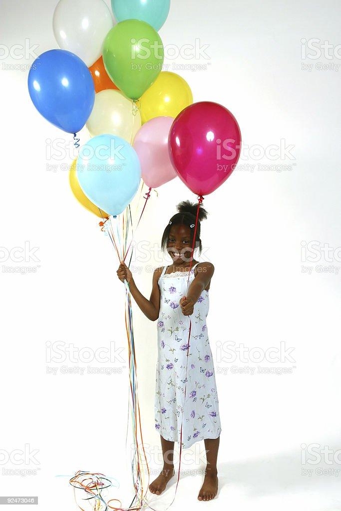 Want a Balloon royalty-free stock photo