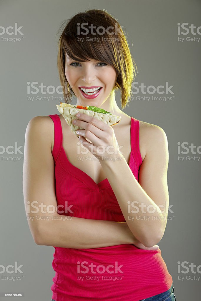 Want a sandiwich? royalty-free stock photo