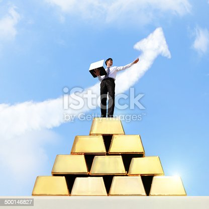 istock I want be rich 500146827