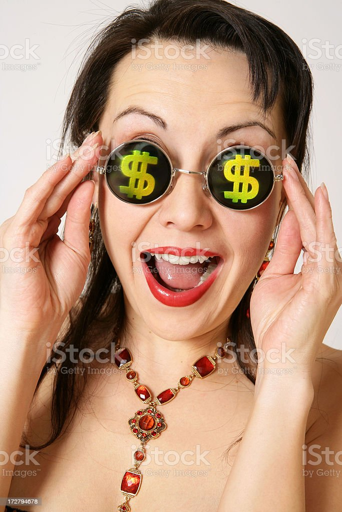 I want money!!! royalty-free stock photo