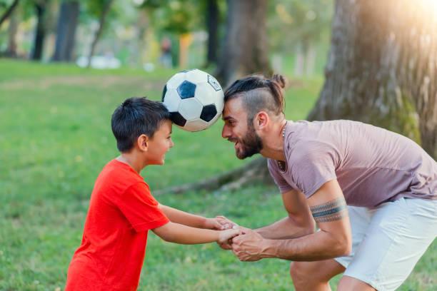 Je veux être très de football Comme mon Papa - Photo