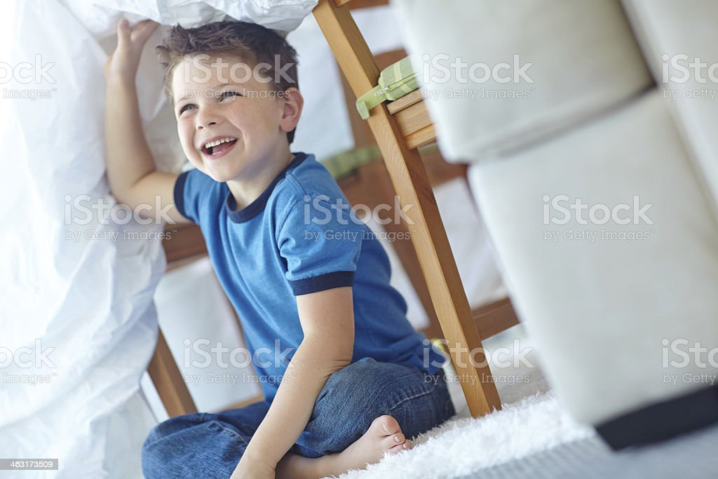 Want to come in? stock photo