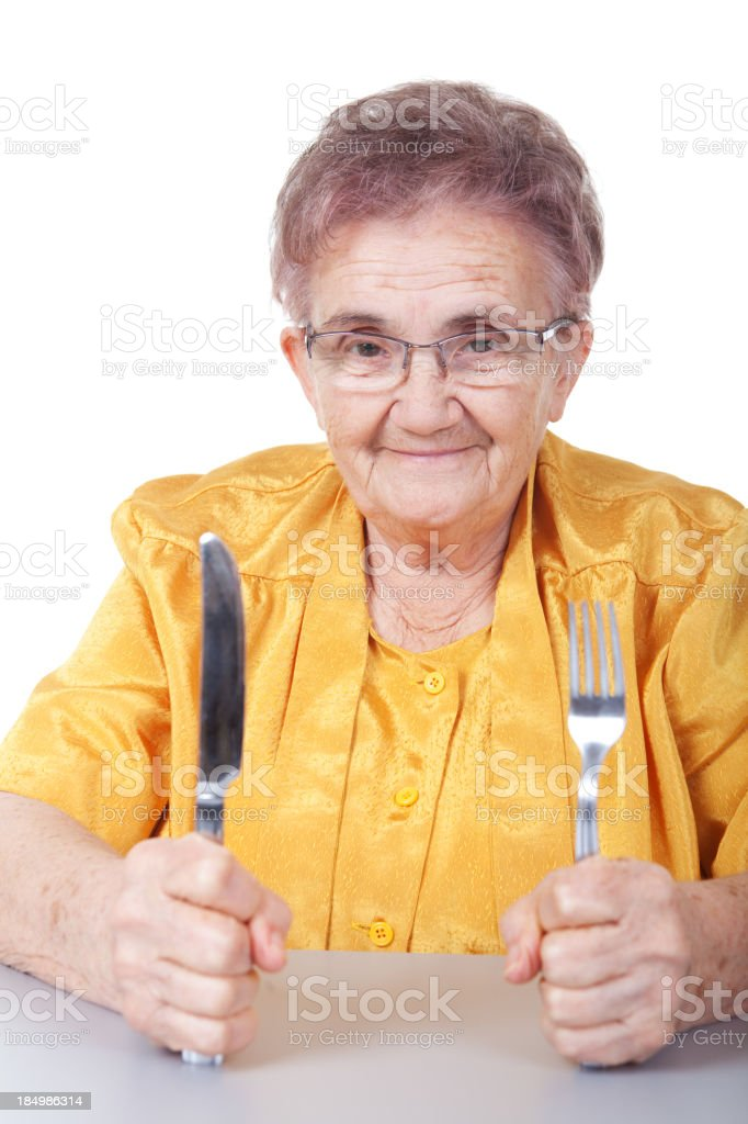 I want to eat! royalty-free stock photo