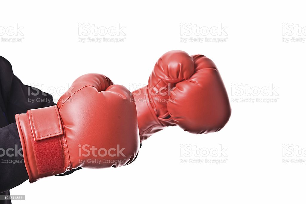 Want to fight? royalty-free stock photo