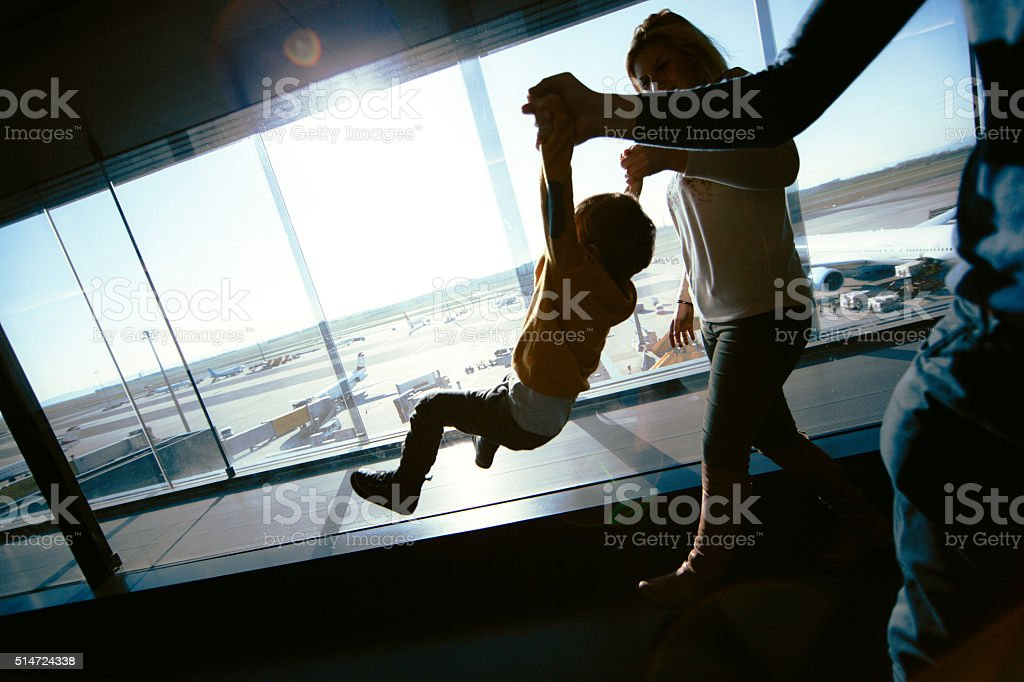 I want to fly, too stock photo
