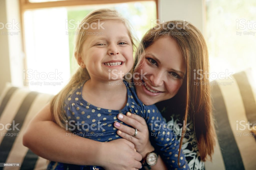 I want to give her the happiest childhood ever royalty-free stock photo