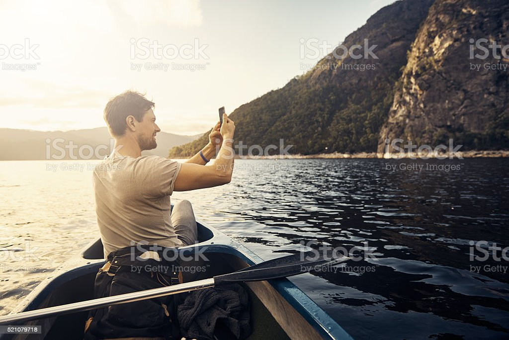 I want to remember this view forever stock photo