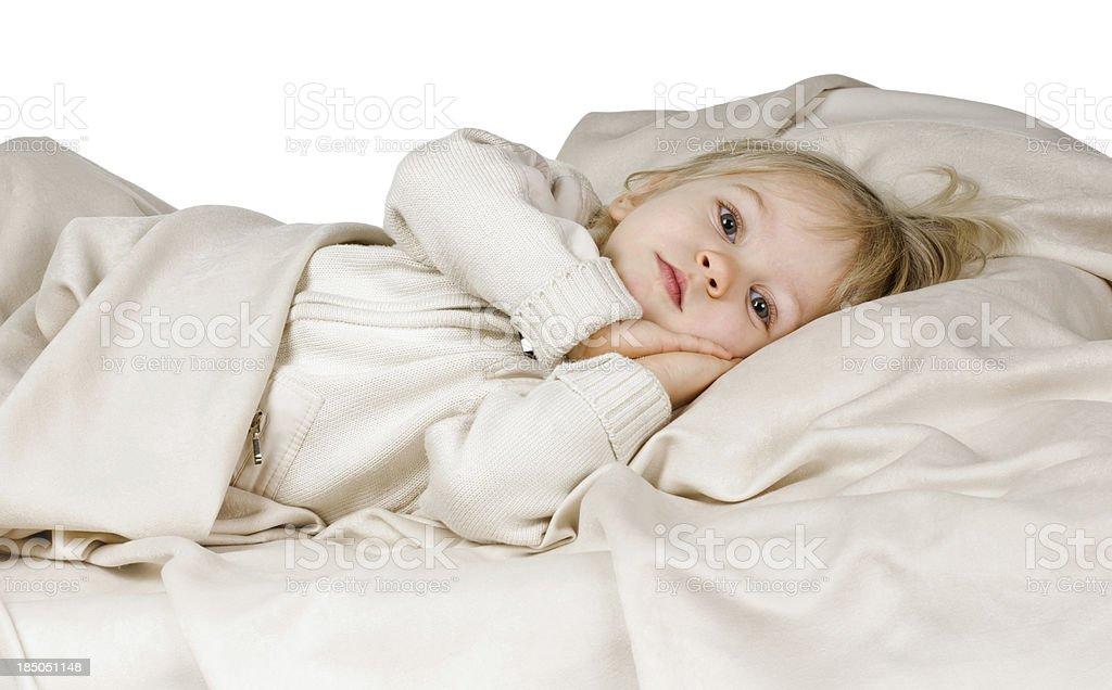 want to sleep royalty-free stock photo