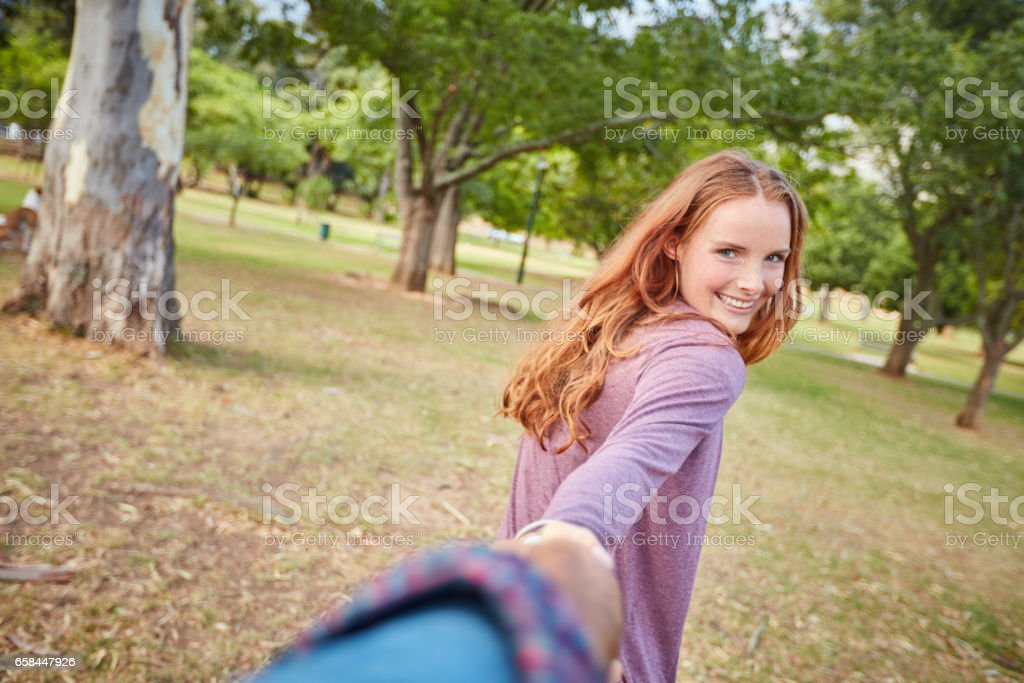 I want to take you to my favorite spot stock photo