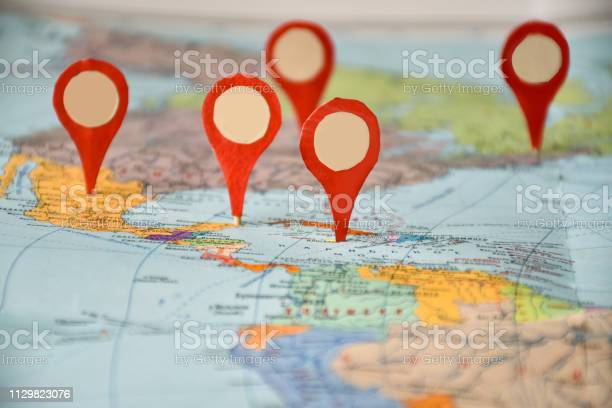 Want to visit geolocation symbols on a map of north america and the picture id1129823076?b=1&k=6&m=1129823076&s=612x612&h=jfnel glfi49mrqe2azyfadz8om2mioim6ero6qvhv0=