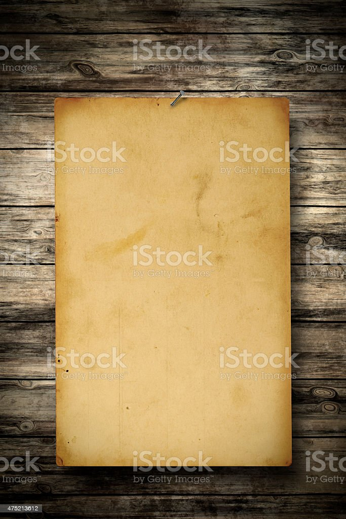 Wanted Poster stock photo
